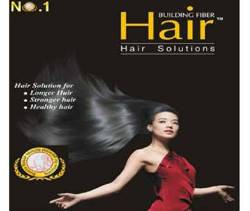 Hair Building Fiber For Hair Solution
