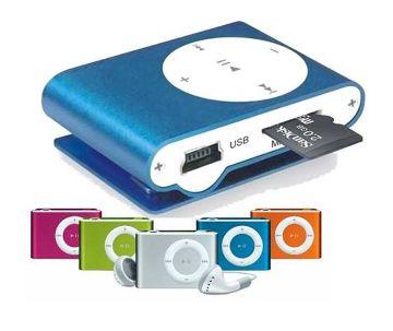 Poket Clamp মিনি MP3 প্লেয়ার
