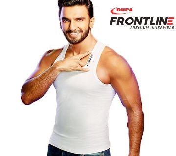Rupa Frontline Premium Quality Cotton Comfortable Vest Undershirt for Men