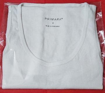 PRIMARK Inner VEST Cotton, Sleeveless Undershirt for Men 1pcs