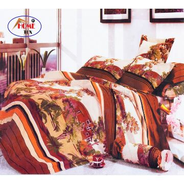 Home Tex Bed Sheet & Pillow Cover - 1080