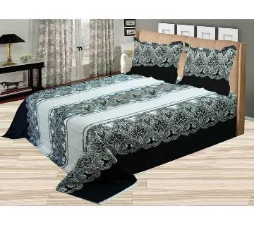Original Home Tex Double Size Cotton Bed Sheet Set