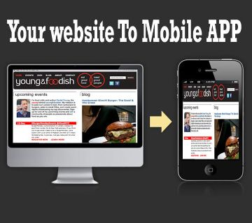 Website To Mobile App Youtube Channel/Facebook Page To Mobile APK