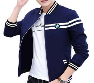 Navy Blue Winter Jacket For Men
