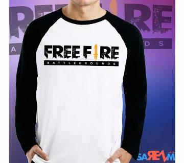 Free Fire Full Sleeve T-Shirt For Men