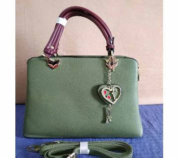 Ladies Formal Hand Bag for regular use (Green)