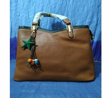 Ladies Formal Hand Bag for regular use (Brown)