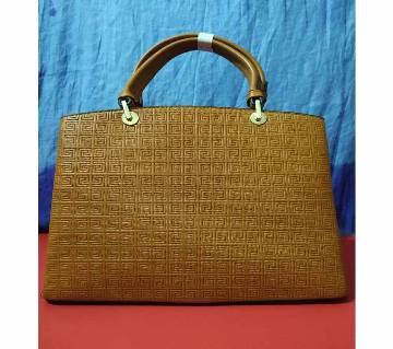 Imported Ladies Formal Hand Bag for regular use (Brown)