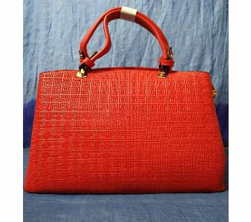 Imported Ladies Formal Hand Bag for regular use (red)