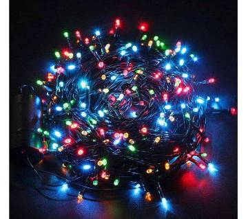 মাল্টিকালার LED বল স্ট্রিং লাইট