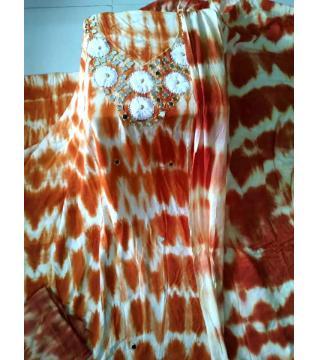 linen three piece maroon