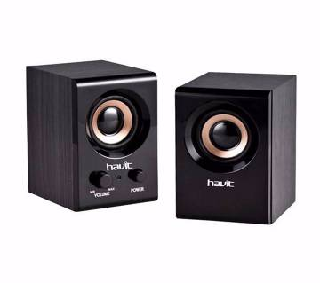 Havit SK490 Wooden AC Power Speaker