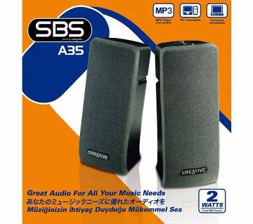 Creative SBS A35 2.0 Desktop Speakers