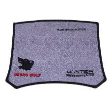 Wild Wolf Mouse Pad - Black