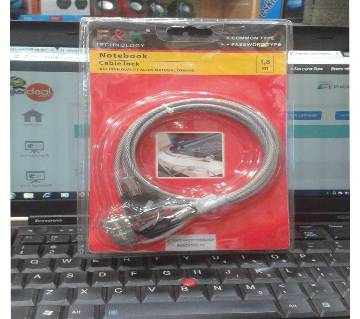 Notebook Cable Lock with Key