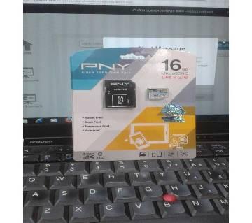 PNY 16GB Micro sdhc memory Card