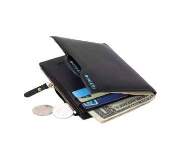 Portfolio Designer Famous Brand Bogesi Perse Short Men Wallet Coin Purse Male Leather Money Bag