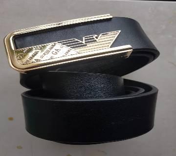 Giorgio Armani Leather Belt for Man