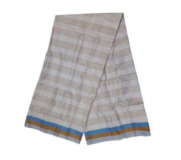 White Stripped Check Cotton Lungi