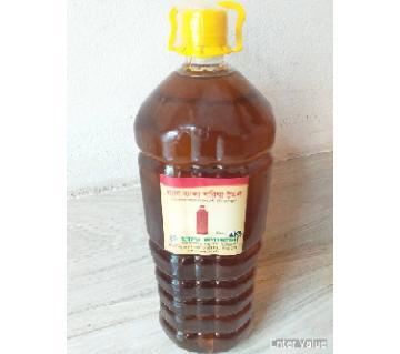 Wooden pressed Mustard oil., 5ltr