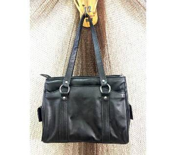 Leather ladies hand bag(LHB002)