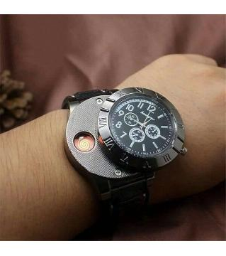 MAN USB Lighter Watch