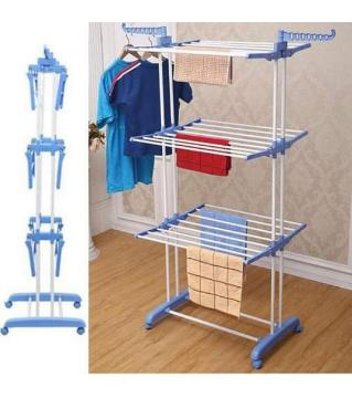 Portable 3 Layer Cloth Rack