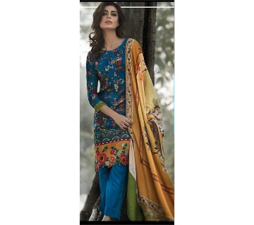 Zara Unstitched Pashmina Two Piece (Kameez & Orna) -Copy
