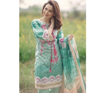 Firdous lawn three piece