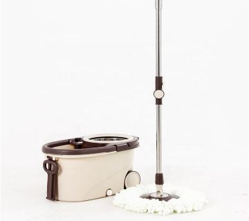 360 Degree Magic Floor Cleaning Spin Mop With Removable Basket_ RM-0582