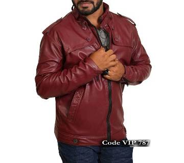 Full Artificial Vip Leather Jacket