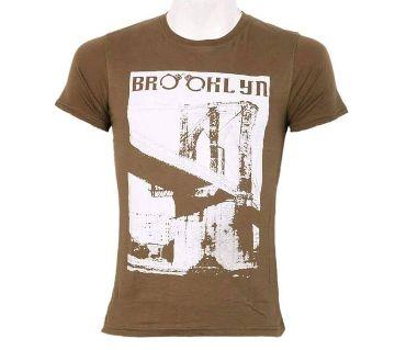 Mens Half Sleeve Cotton T-Shirt 2015