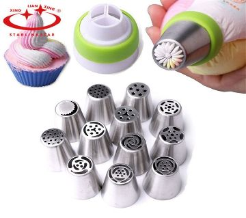 RUSSIAN Cake Decorator Nozzle Set Beautiful look and style