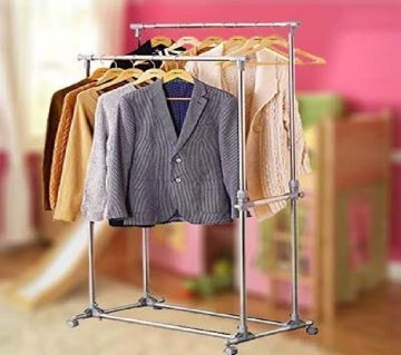 Tidy Rail Cloth Hanger Big size with portable cloth Hanger Home Accessories