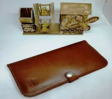 Long mobile pars wallet for men