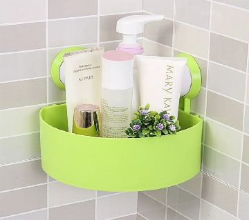 Bathroom Corner single plastic rack