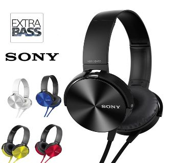 Headphones SONY MDR-450AP EXTRA BASS Stereo Surround Sound Headphone HIFI Headset OEM