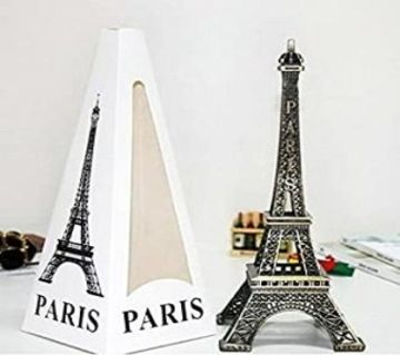 Paris Eiffel Tower Metalic Showpiece