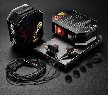 Famkit In-Ear Earbuds Super Bass Stereo Headphone Headset Earphone 3.5mm With Mic-1hrt