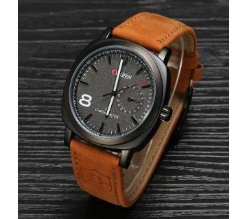 Curren Gents Watch- Brown & Black (Copy)