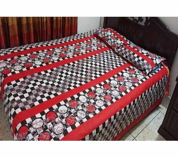 Double Size Cotton Bedsheet Set i