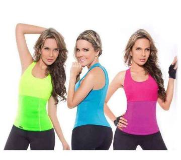Slimming hot shaper t-shirt