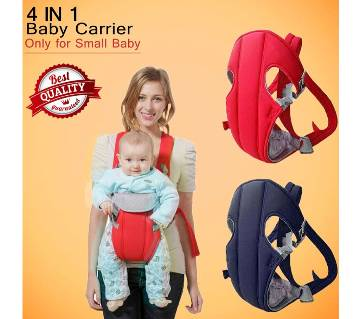 Soft Baby Carrier 4 in 1 with Comfortable Head Support