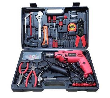 Drill machine set