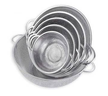 Stainless steel round strainer