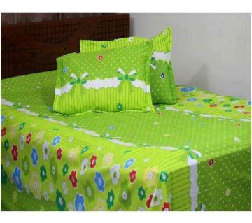 3 piece Cotton Queen size bedsheet set