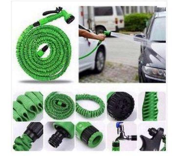 Magic Hose Pipe with Shower Gun -50 feet - Green