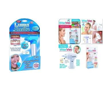 LUMA Teeth Kit & WaxVac Ear Cleaner Combo