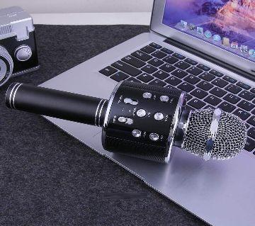 Q7 Microphone karaok Speaker-Black
