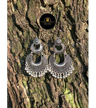 Antic Silver Earring